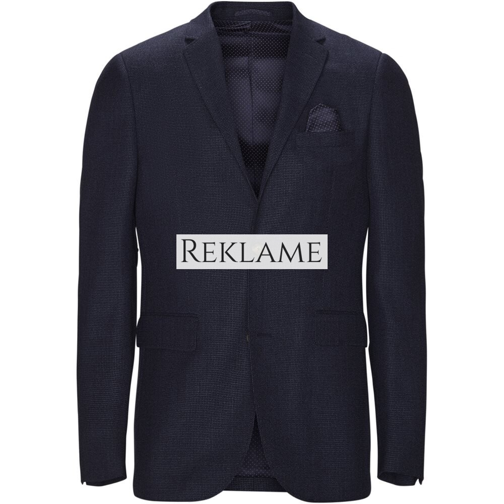 SAND – Star/Sherman Blazer (Slim/Regular, Blå)
