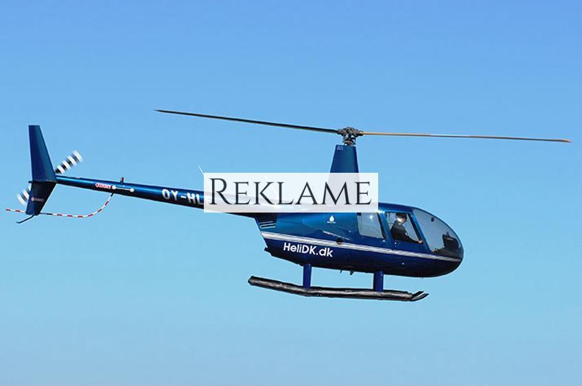 Privat helikoptertur over København