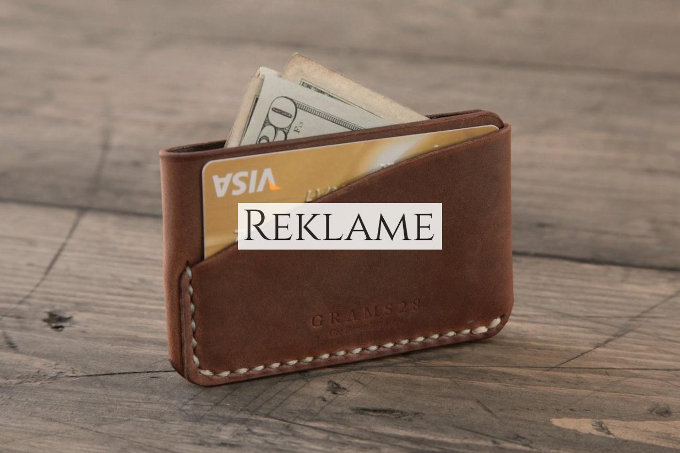 kreditkortholder i læder