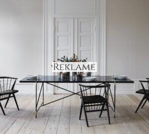 Sort spisebord – 20 flotte sorte spiseborde