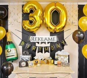 Kammeratens 30-års fødselsdag - hvad giver man i gave?