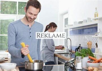 Den moderne mand er også i køkkenet
