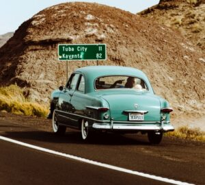 Klassiske biler fra klassiske film